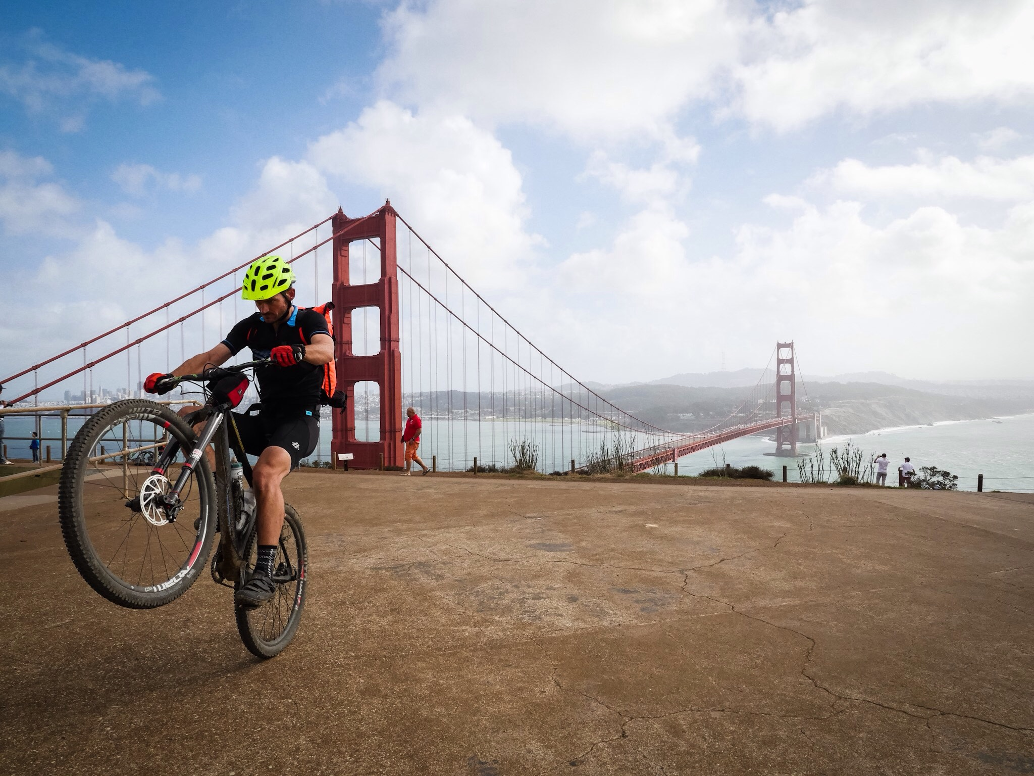 mountain bike tours in marin and san francisco california
